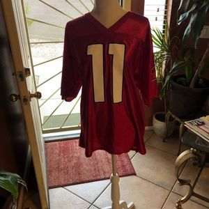 NFL Larry Fitzgerald Red Jersey